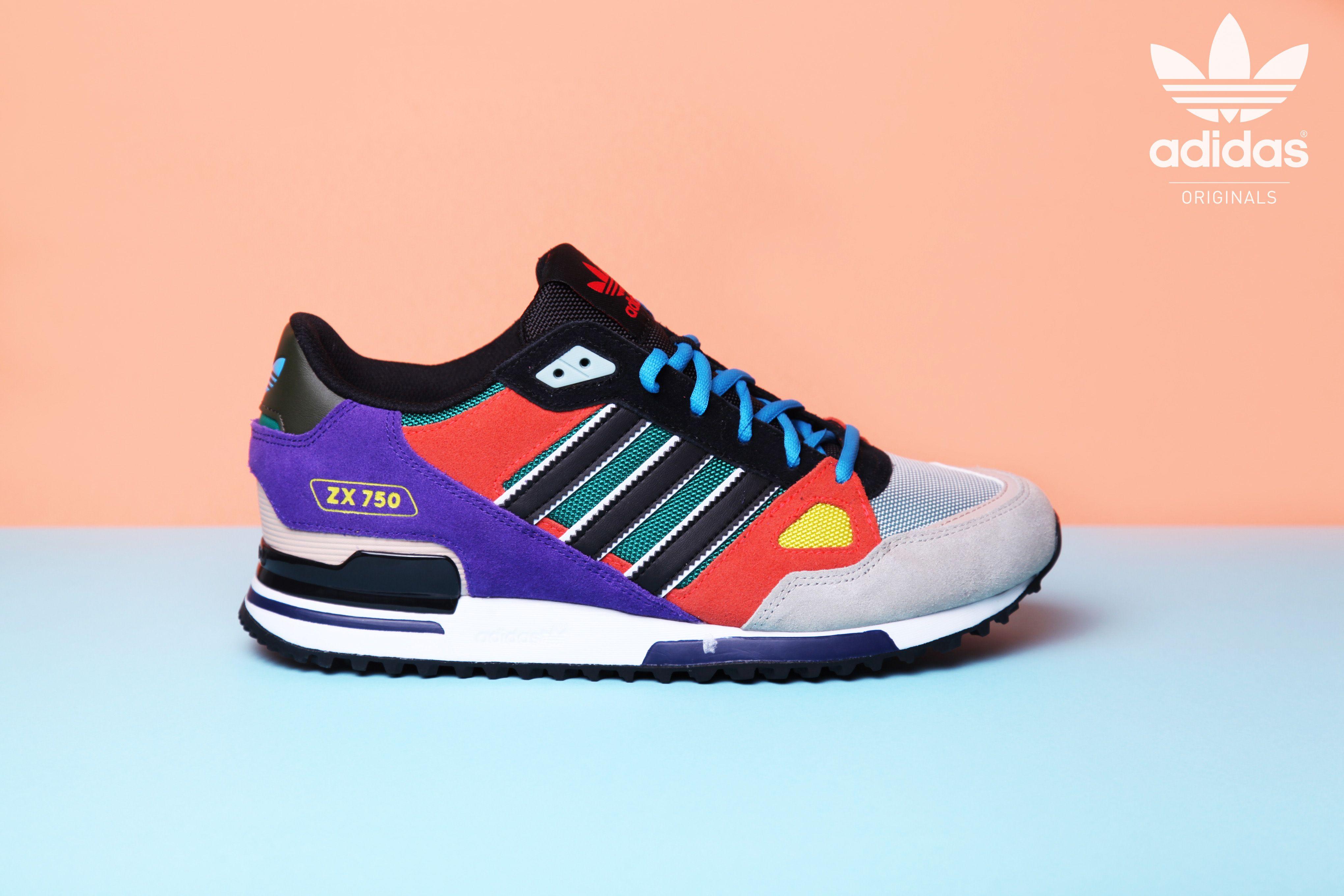 competitive price 2aa1d 31690 Zapatillas Adidas ZX 750 af6292 multicolor en  brutalzapas  www.brutalzapas.com  shoes
