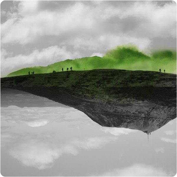 Labokoff Photographs Combined With Watercolor By Fabienne Rivory Landscape Photography Watercolor Landscape Landscape Art