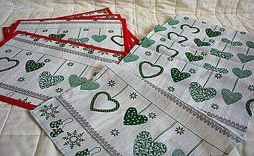 Úžitkový textil - Vianočná štóla - 7334876_