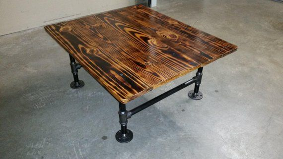 Tremendous Rustic Industrial Reclaimed Pallet Wood Coffee Table With Machost Co Dining Chair Design Ideas Machostcouk