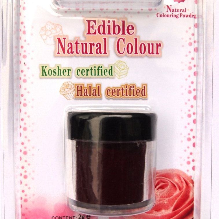 Dark Red ~ Natural Coloring Powder ~ Food Coloring ~ Natural ...