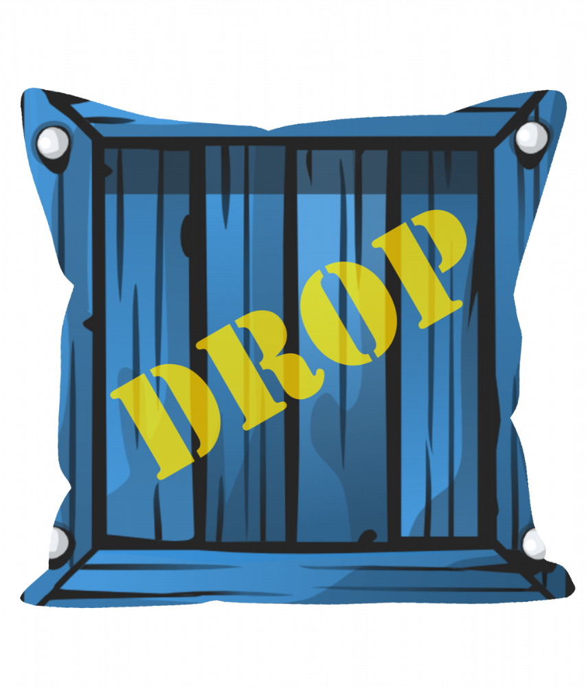 Https Www Cushionss Pingle Site Fortnite Supply Drop Loot Crate Sofa Cushion Throw Pillow Feed Id 31859 Unique Id 5e3c6a Loot Crate Crates Cushions On Sofa
