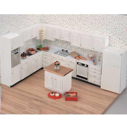 Complete Kitchen Cabinet Set: Unassembled/Unfinished Complete Kitchen Set