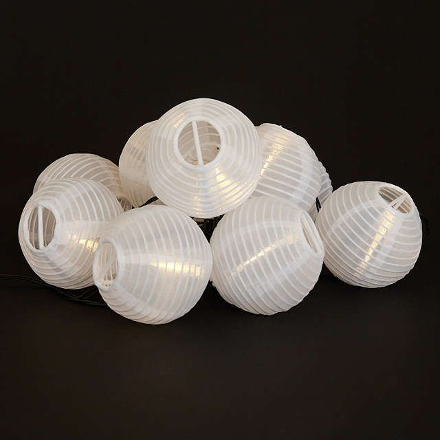 Solar Line Lights Part - 30: BuyJohn Lewis Outdoor LED Solar Line Lights, White Online At Johnlewis.com