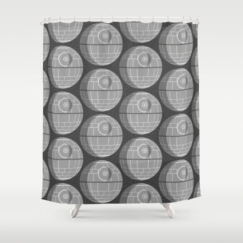 Star Wars Death Shower Curtain By Foreverwars On Etsy 11000