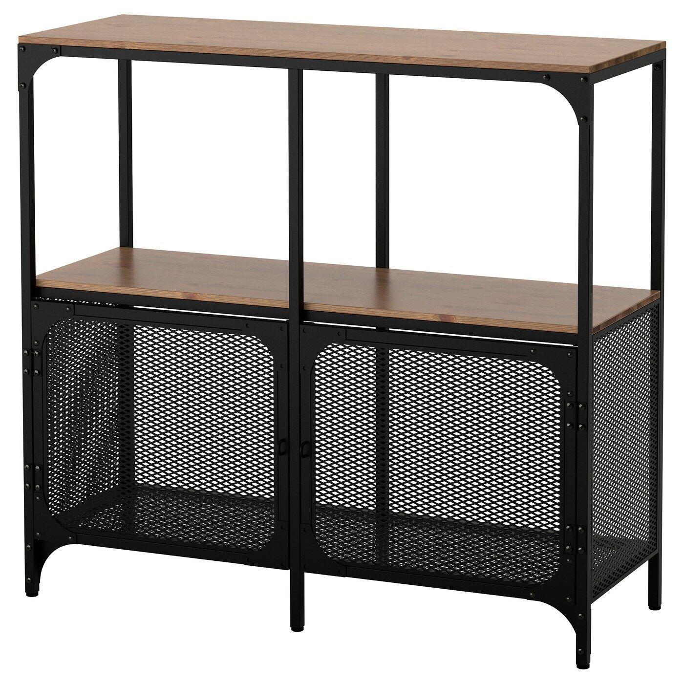 FJÄLLBO Shelf unit black IKEAblack fjÄllbo ikea