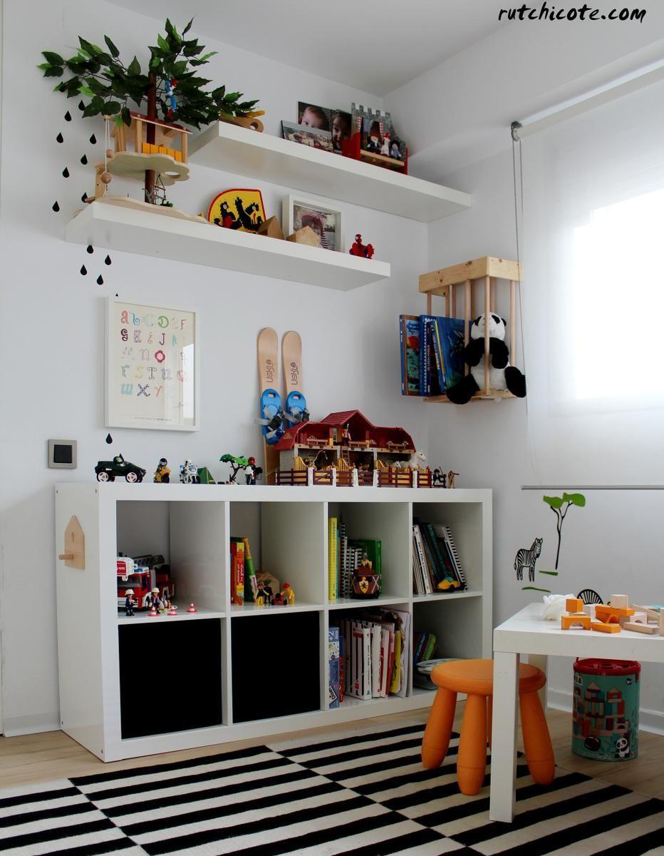 Zona de juegos infantiles decoraci n pinterest for Ideas para decorar habitacion compartida nino nina