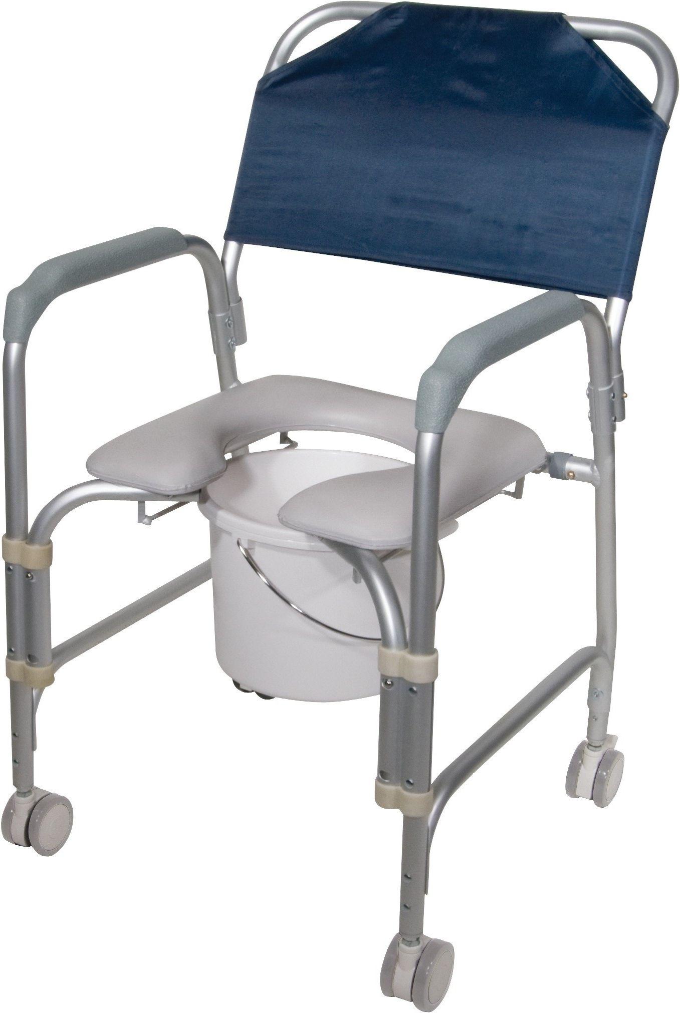 Duschstuhl Mit Rädern Stühle, Schaukelstuhl polster und