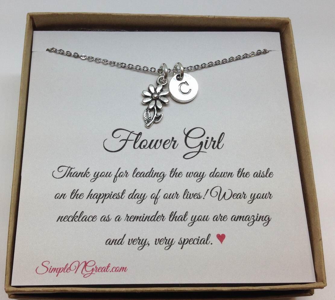 Best Wedding Gift For Girl: Flower Girl Gift Flower Girl Bracelet Love Knot For Flower