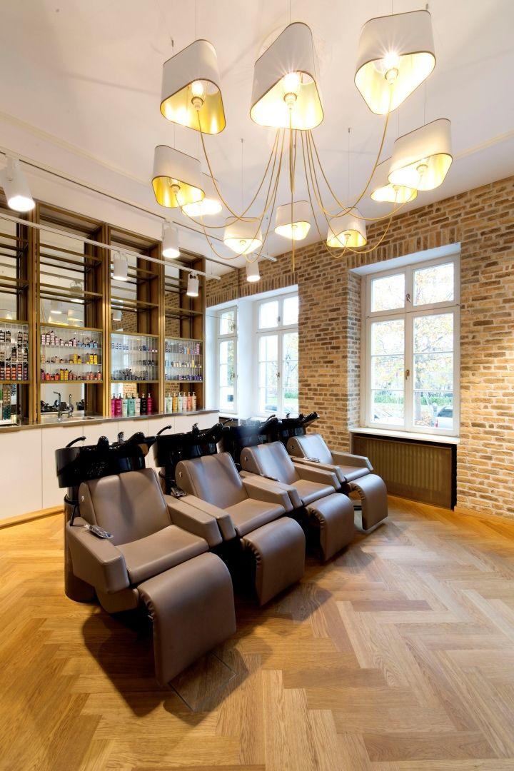 Haarwerk salon by universalprojekt frankfurt germany retail design blog hair salon for Salon interior design software