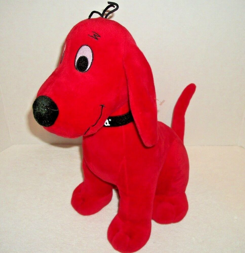 Clifford The Big Red Dog Stuffed Animal Kohl S Cares 13 Tall