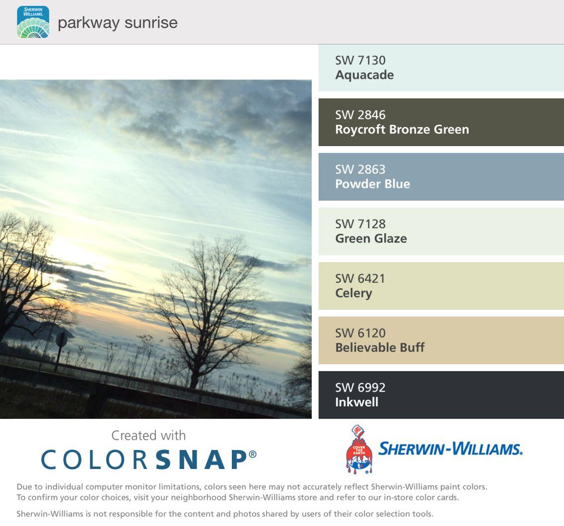 Sunrise color inspiration