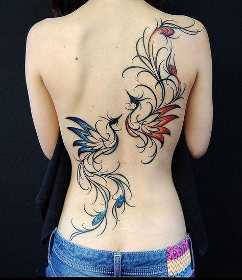 Belagoria Tatuaje Del Ave Fénix Su Significado Y Poder Tattoos