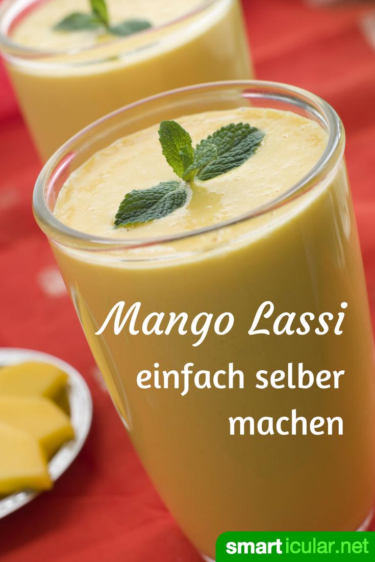 Gesunde Lassis selber machen - süß oder salzig | Einfach, Getränke ...
