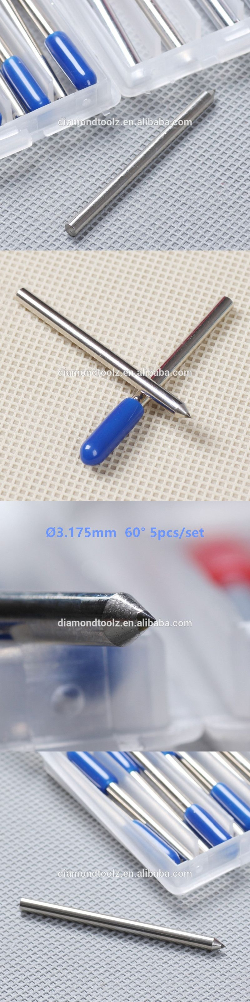 Talentool Free Shipping 5pcs Set Diamond Drag Engraving Bit With 60 Laser Engraver The Electronic Mercenary Degree Dia 3mm For