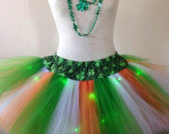 Irish I was a Mermaid Shirt and Tutu SetSt Patrick/'s Day Tutu