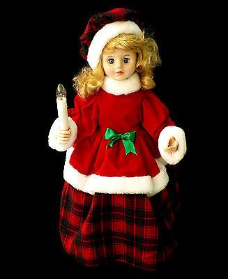 Telco Motionette Animated Lighted Caroler in Original Box 24 ...