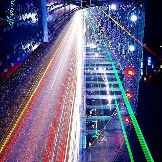 Instagram【kazu.go.jp】さんの写真をピンしています。 《こんばんは😃🌃 夜景の連投 失礼します🎵 少し 風が止んで来ましたので 中央区の 永代橋で レーザービーム (流し撮りです) 撮って見ました😆🍀 SS 25秒 F11 三脚使用です😆🍀 #夜景🌃 #夜景ら部 #夜景 #夜景 #夜景倶楽部 #東京の夜景 #流し撮り部 #流し撮り #ギャラリー道端 #カッコいい #写真撮ってる人と繋がりたい #写真好きな人と繋がりたい #写真 #nightviewtokyo #nightview🌃 #nightview #nightviews #panings #paning #instaguramjapan #instaguram #butteful #foto📷 #foto》