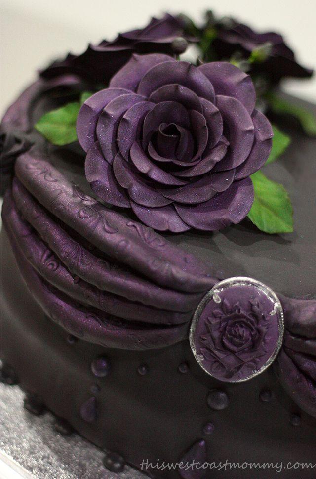 Miraculous Gothic Birthday Cake With Images Gothic Birthday Cakes Funny Birthday Cards Online Inifofree Goldxyz