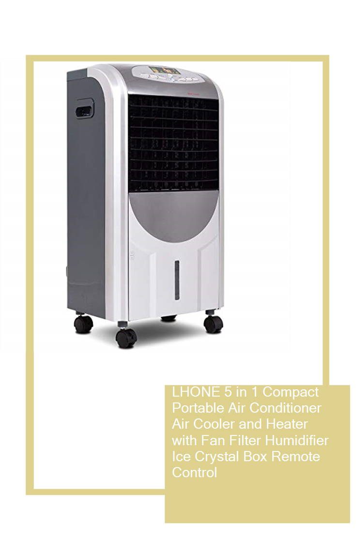 LHONE 5 in 1 Compact Portable Air Conditioner Air Cooler