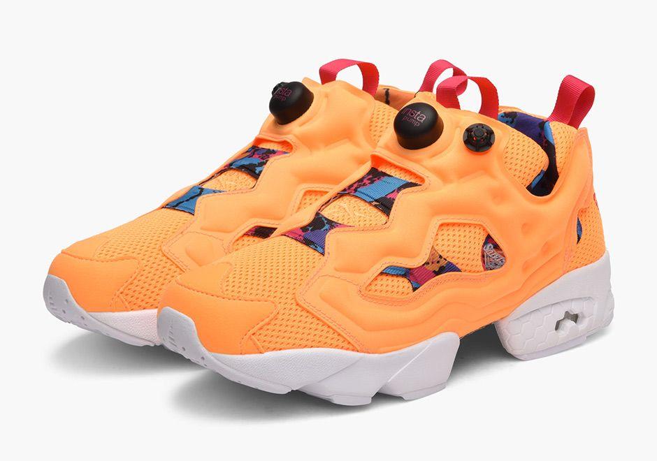 "Reebok Instapump Fury ""Orange Sherbet"" - SneakerNews.com"