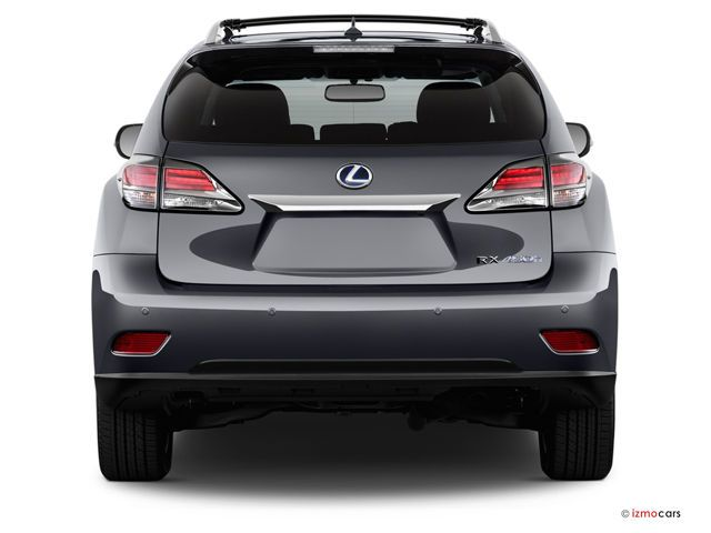 2014 Lexus Rx Hybrid Pictures Rear View U S News Best Cars