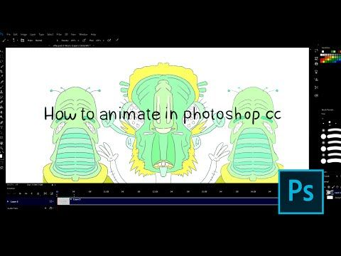 How To Animate In Photoshop Cc Youtube Animation In Photoshop Photoshop Resources Animation
