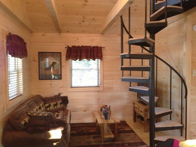 Spiral Stair   Types Of Basement Stairs