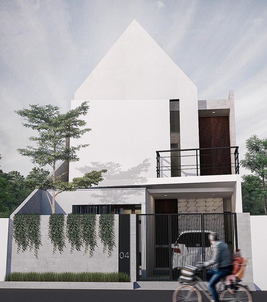Gambar  Rumah  Sederhana  2 Lantai Modern  Pria di 2019
