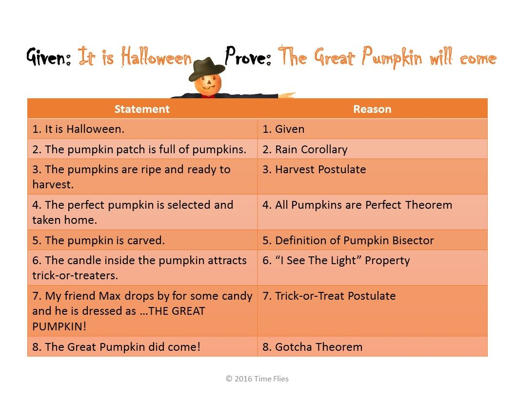 Two Column Halloween Goof Proof