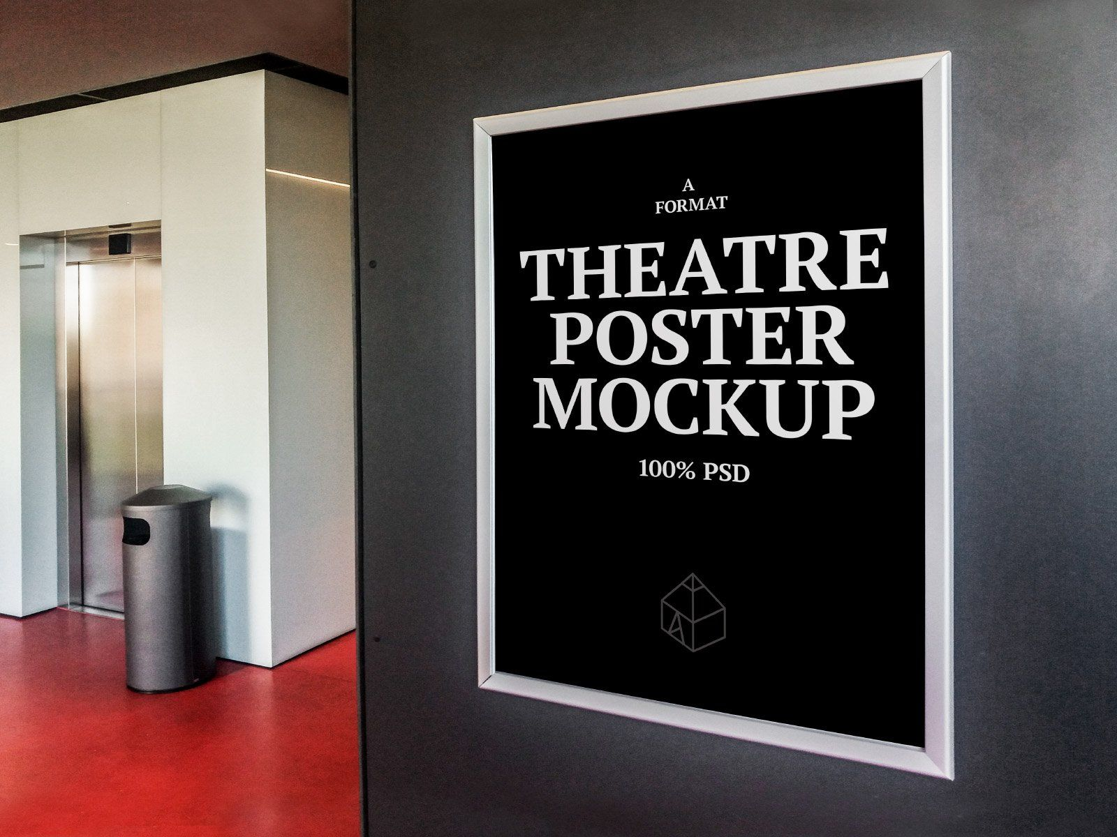 Theatre Poster Mock Ups Theatre Poster Poster Mockup Poster Display
