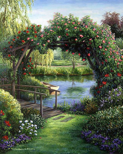 Barbara Rosbe Felisky Beautiful Gardens Beautiful Nature Landscape