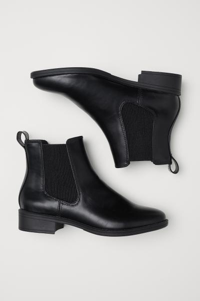 Chelsea Boots - Black - Ladies   H\u0026M US