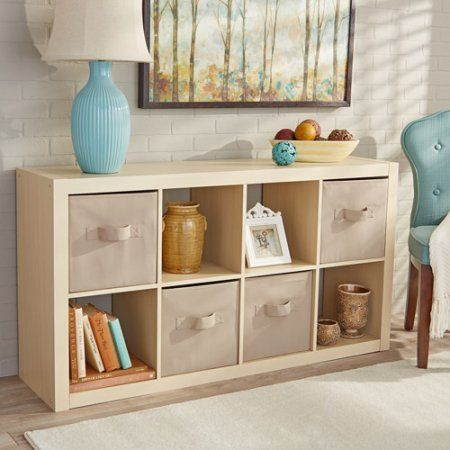 Better Homes And Gardens 8 Cube Organizer Multiple Colors Living Room