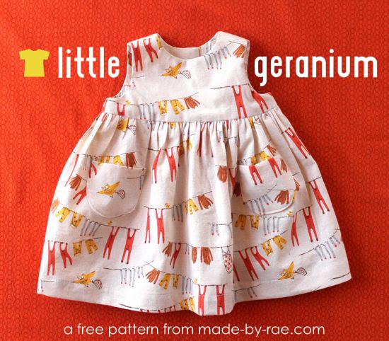 10 Must-Sew Free Baby Dress Patterns | Dress patterns, Sewing ...