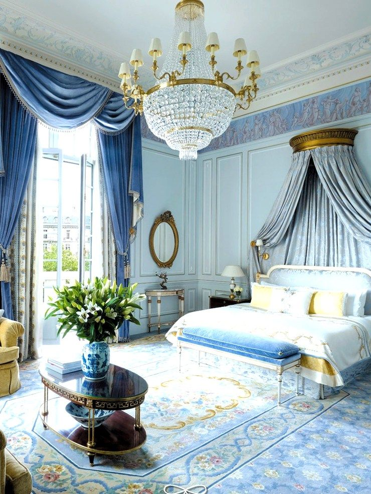 Elegant French Empire Chandeliers Empire Chandelier French - French blue bedroom design