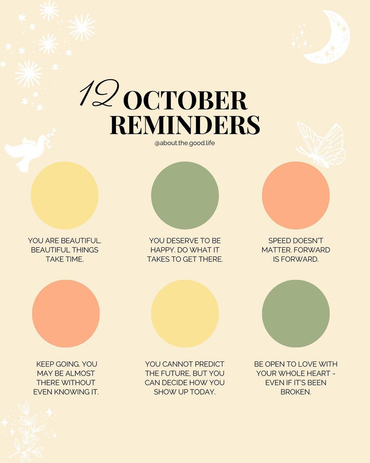 May October Be The Month You Begin To Harvest The Gifts Of Your Becoming May You Stay Warm Colourful And Nourished T