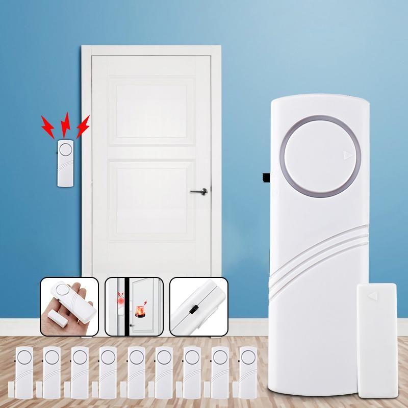 Smart Door Window Security Burglar Alarm Home Safety Sensor Tool Window Alarm Kit Home Office Door Sensor In 2020 Home Safety Window Security Window Alarms