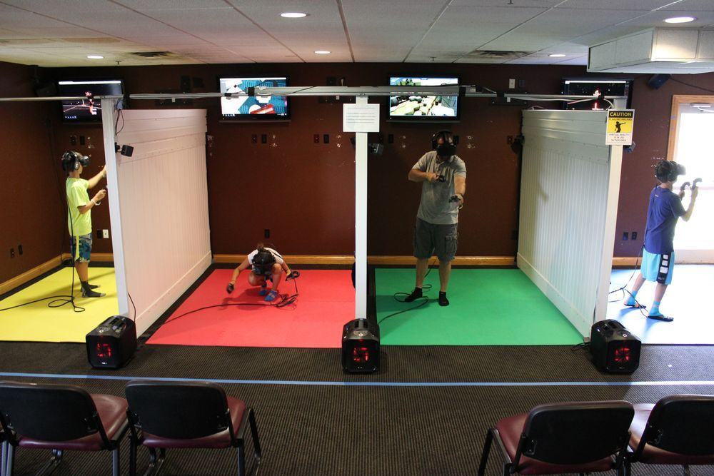 Why Vr Arcades Could Be Virtual Reality S Salvation Polygon Vr Room Virtual Reality Education Virtual Reality Design