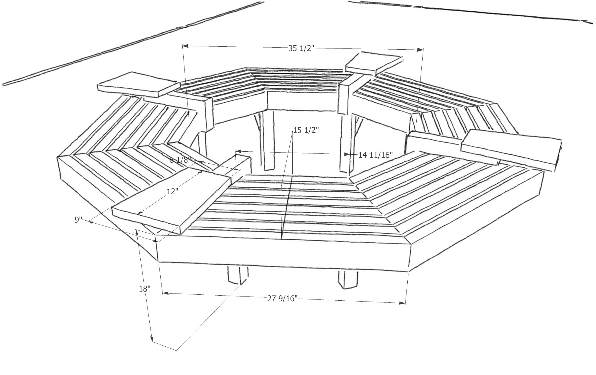Tree Bench Plans Free 28 Images 1000 Images About Garden On Pinterest Outdoor Free Tree