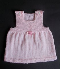 e3903848b213 Ravelry  PIPPI Baby Pinafore Dress pattern by marianna mel
