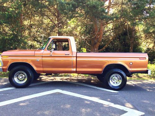 1974 F250 Highboy Truck Ford F150 Ranger Highboy Xlt 4x4 Longbed