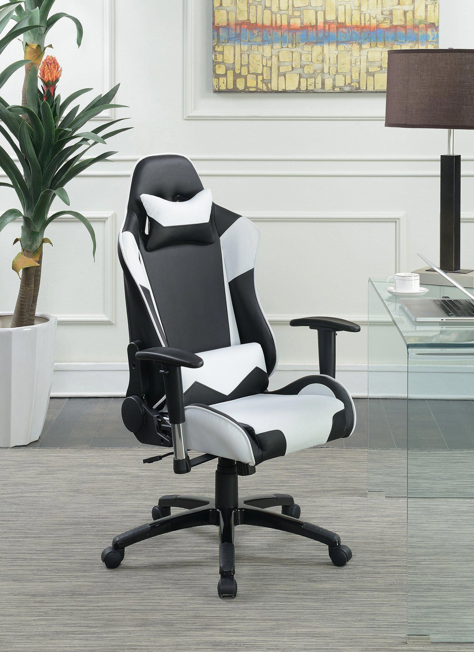 Peachy Black And White Computer Gaming Chair Computergames Inzonedesignstudio Interior Chair Design Inzonedesignstudiocom