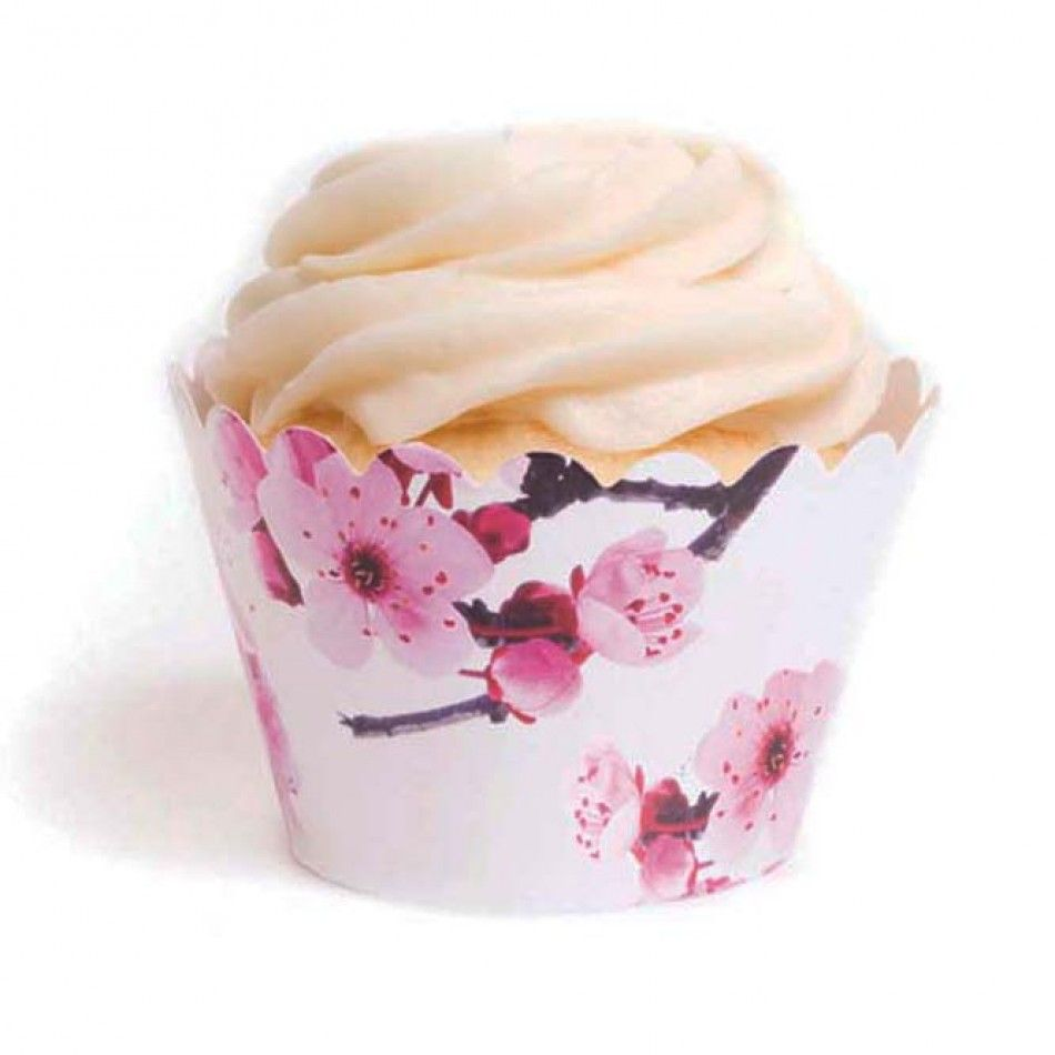 Sakura Cherry Blossom Cupcake Wrappers™ (12 Wrappers) BEST SELLER ...
