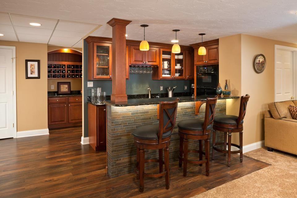 Beautiful Wet Bar Ideas For Basement #9 Basement Wet Bar Designs | Basement bar designs, Wet bar ...