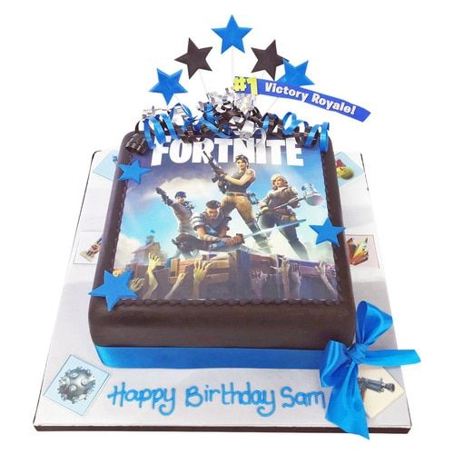 Fortnite Birthday Cake Delivered Anywhere In The London Area Plus Over 800 Other Designs Made Fresh To Order Click For Londons Favourite Maker