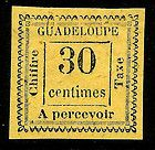 French Colony Guadeloupe Scott J11 Unused - Colony, French, Guadeloupe, SCOTT, UNUSED