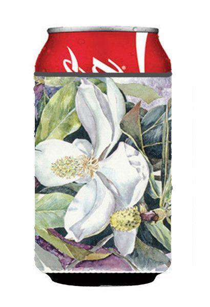 Flower - Magnolia Can or Bottle Beverage Insulator Hugger
