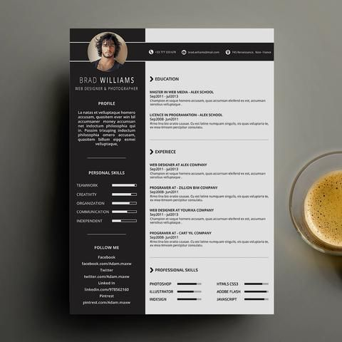 Resume Templates Business Cards Resume Templates Curriculum Vitae Resume Template Free