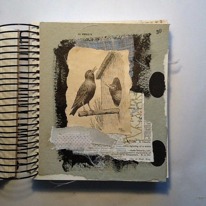 Collage Work And A Feature Livro De Artista Artistas Colagem